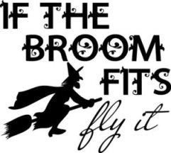 If the broom fits...