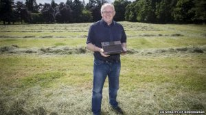 Prof Vince Gaffney led the project to analyse the pits at Warren Field